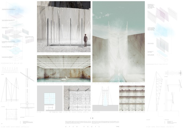 Concurso Internacional - Carrara Thermal Baths - Menção Honrosa - Prancha 01