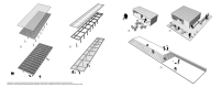 Premiados - Concurso Requalificação Praça Feira-Mar - Primeiro Lugar - Diagramas - Coberturas - Bancas - Escadaria