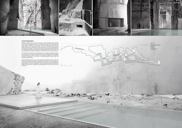 Concurso Internacional - Carrara Thermal Baths - Primeiro Lugar - Prancha 01