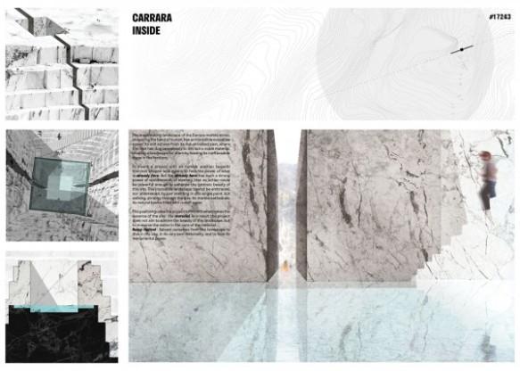 Concurso Internacional - Carrara Thermal Baths - Terceiro Lugar - Prancha 01