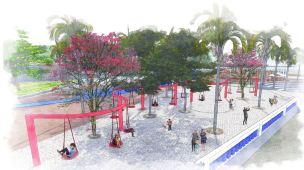 Premiados - Concurso Requalificação Praça Feira-Mar - Destaque - Imagem 2