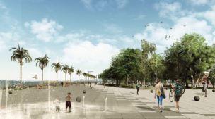 Premiados - Concurso Requalificação Praça Feira-Mar -Menção Honrosa - Imagem 2