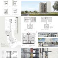 Premiados – Habitação Coletiva – Samambaia – CODHAB-DF - Menção Honrosa -Prancha Síntese
