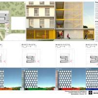 Premiados – Habitação Coletiva – Samambaia – CODHAB-DF - Menção Honrosa -Prancha 2