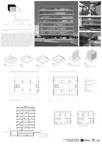 Premiados – Habitação Coletiva – Samambaia – CODHAB-DF -Terceiro Lugar - Prancha Síntese