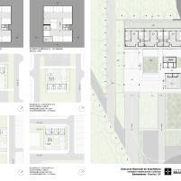 Premiados – Habitação Coletiva – Samambaia – CODHAB-DF - Menção Honrosa - Prancha 3