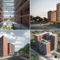 Premiados – Habitação Coletiva – Samambaia – CODHAB-DF - Menção Honrosa - Prancha 5