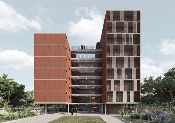 Premiados – Habitação Coletiva – Samambaia – CODHAB-DF - Menção Honrosa - Imagem 1