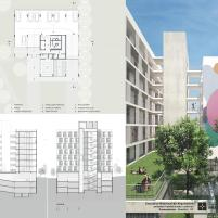 Premiados – Habitação Coletiva – Samambaia – CODHAB-DF - Menção Honrosa -Prancha 3