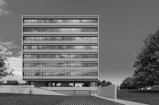 Premiados – Habitação Coletiva – Samambaia – CODHAB-DF -Terceiro Lugar - Imagem 1