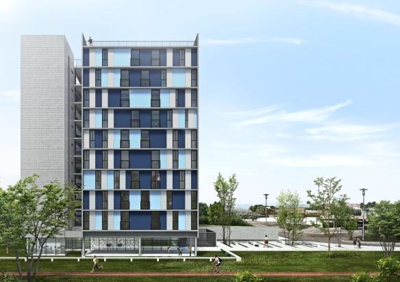 Premiados – Habitação Coletiva – Samambaia – CODHAB-DF - Primeiro Lugar - Imagem 1