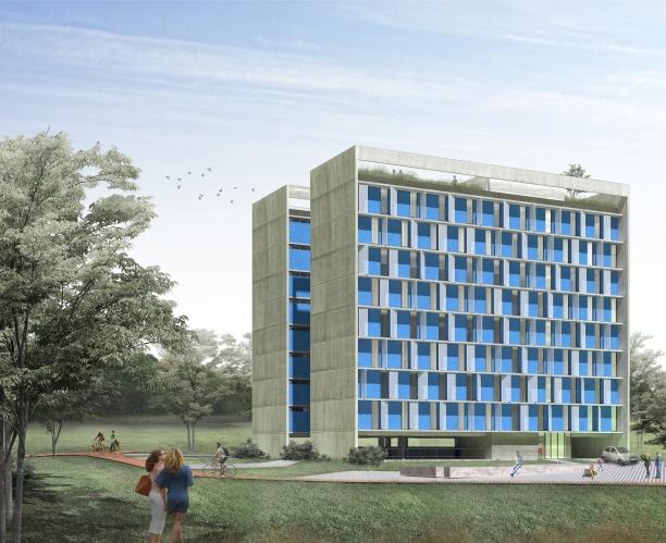 Premiados – Habitação Coletiva – Samambaia – CODHAB-DF - Segundo Lugar - Imagem 1