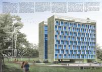 Premiados – Habitação Coletiva – Samambaia – CODHAB-DF - Segundo Lugar - Prancha 1