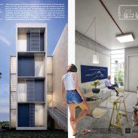 Premiados – Habitação Coletiva – Sol Nascente – Menção Honrosa - Prancha 05