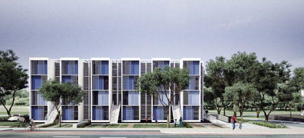 Premiados – Habitação Coletiva – Sol Nascente – Menção Honrosa - Imagem 1