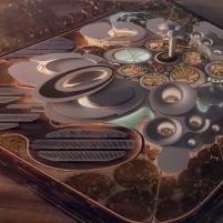 Premiados – Concurso Internacional - Cidade da Ciência - Biblioteca de Alexandria - Terceiro Lugar - Imagem 01