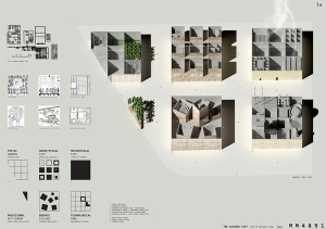 Premiados – Concurso Internacional - Cidade da Ciência - Biblioteca de Alexandria - Menção Honrosa - Imagem 01