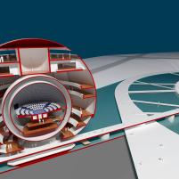 Premiados – Concurso Internacional - Cidade da Ciência - Biblioteca de Alexandria - Menção Honrosa - Imagem 03