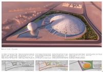 Premiados – Concurso Internacional - Cidade da Ciência - Biblioteca de Alexandria - Menção Honrosa - Prancha 2