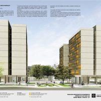 Premiados – Edifícios de Uso Misto - Santa Maria – CODHAB-DF - Primeiro Lugar - Prancha 01