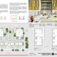 Premiados – Edifícios de Uso Misto - Santa Maria – CODHAB-DF - Primeiro Lugar - Prancha 02