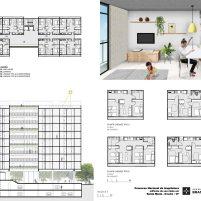 Premiados – Edifícios de Uso Misto - Santa Maria – CODHAB-DF - Primeiro Lugar - Prancha 04
