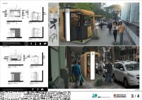 Premiados - Concurso Público Nacional de Ideias para Elementos de Mobiliário Urbano - Menção Honrosa - Prancha 03