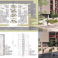 Premiados – Edifícios de Uso Misto - Santa Maria – CODHAB-DF - Terceiro Lugar - Prancha 02