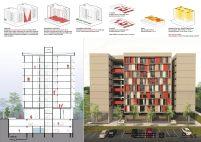 Premiados – Edifícios de Uso Misto - Santa Maria – CODHAB-DF - Terceiro Lugar - Prancha 05