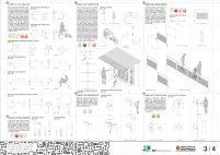 Premiados - Concurso Público Nacional de Ideias para Elementos de Mobiliário Urbano - Segundo Lugar - Prancha 03