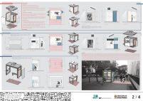Premiados - Concurso Público Nacional de Ideias para Elementos de Mobiliário Urbano - Menção Honrosa - Prancha 02