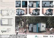 Premiados - Concurso Público Nacional de Ideias para Elementos de Mobiliário Urbano - Terceiro Lugar - Prancha 03