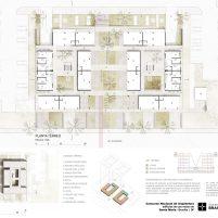 Premiados – Edifícios de Uso Misto - Santa Maria – CODHAB-DF - Segundo Lugar - Prancha 02