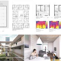 Premiados – Edifícios de Uso Misto - Santa Maria – CODHAB-DF - Segundo Lugar - Prancha 04