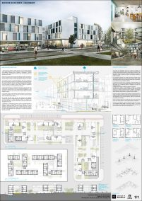 Premiados – Edifícios de Uso Misto no Sol Nascente - Trecho 2 – CODHAB-DF – Terceiro Lugar – Prancha Síntese