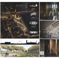 Concurso Internacional - United Kingdom Holocaust Memorial – Primeiro Finalista – Prancha 01