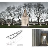 Concurso Internacional - United Kingdom Holocaust Memorial – Quarto Finalista – Prancha 01