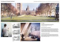 Concurso Internacional - United Kingdom Holocaust Memorial – Oitavo Finalista – Prancha 04