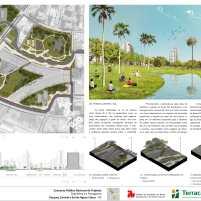 Concurso Nacional – Parques de Águas Claras - DF – Menção Honrosa – Prancha 04