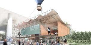 Premiados – Concurso de Ideias para Estudantes – #020 Pavilhão Projetar Itinerante - Segundo Lugar - Imagem 01