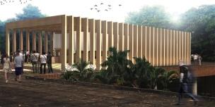Premiados – Concurso de Ideias para Estudantes – #020 Pavilhão Projetar Itinerante - Menção Honrosa - Imagem 01