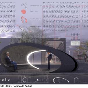 Premiados – Concurso de Ideias para Estudantes – #022 Parada de Ônibus - Segundo Lugar - Prancha 01
