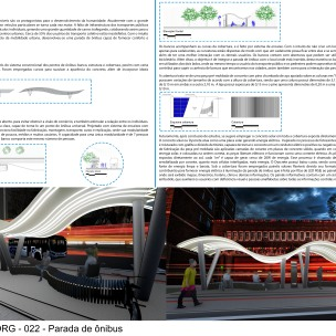 Premiados – Concurso de Ideias para Estudantes – #022 Parada de Ônibus - Menção Honrosa - Prancha 01