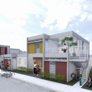 Premiados – Concurso Nacional – Unidades Habitacionais de Interesse Social DF - Grupo 3 - Primeiro Lugar - Imagem 01