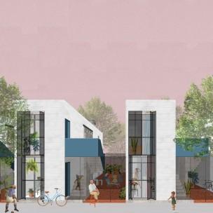 Premiados – Concurso Nacional – Unidades Habitacionais de Interesse Social DF - Grupo 1 - Primeiro Lugar - Imagem 01