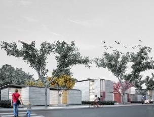 Premiados – Concurso Nacional – Unidades Habitacionais de Interesse Social DF - Grupo 1 - Menção Honrosa - Imagem 01