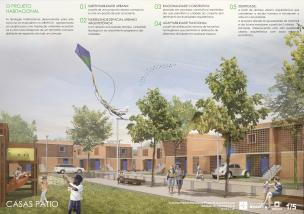 Premiados – Concurso Nacional – Unidades Habitacionais de Interesse Social DF - Grupo 1 - Segundo Lugar - Prancha 01