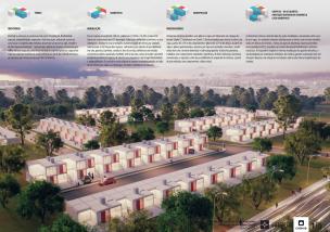 Premiados – Concurso Nacional – Unidades Habitacionais de Interesse Social DF - Grupo 3 - Menção Honrosa - Prancha 01