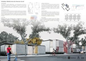 Premiados – Concurso Nacional – Unidades Habitacionais de Interesse Social DF - Grupo 1 - Menção Honrosa - Prancha 01