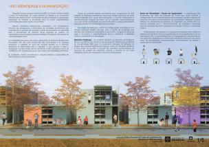 Premiados – Concurso Nacional – Unidades Habitacionais de Interesse Social DF - Grupo 2 - Segundo Lugar - Prancha 01